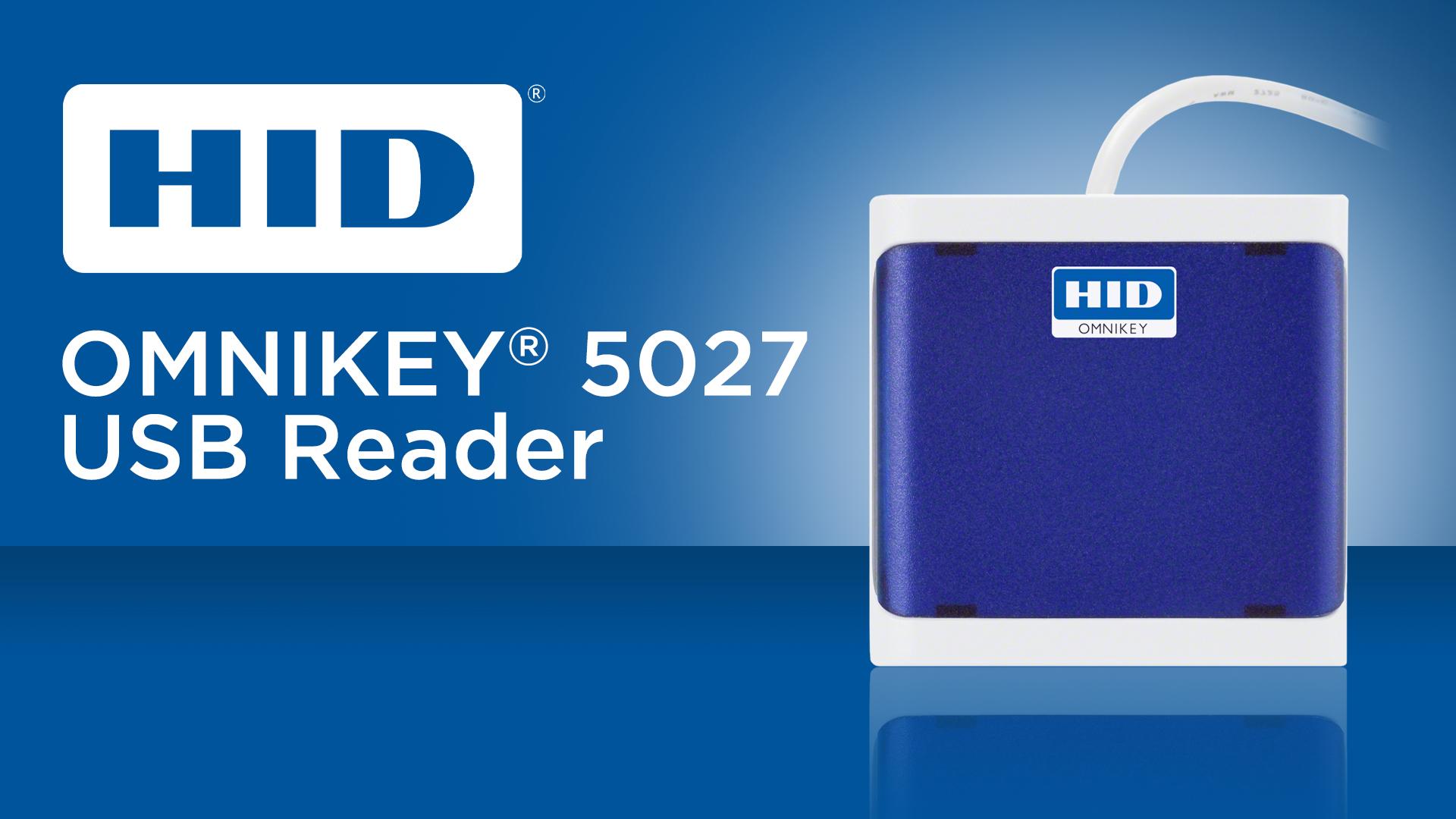 HID Omnikey 5027 USB Reader
