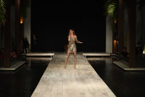 Miami Swim Week Runway Show Nessey Swimwear at the Setai hotel 2019 Singer performing