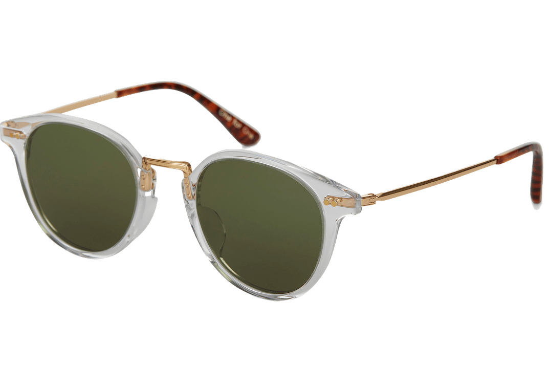 Toms Bellini 201 Crystal Green Lens sunglasses