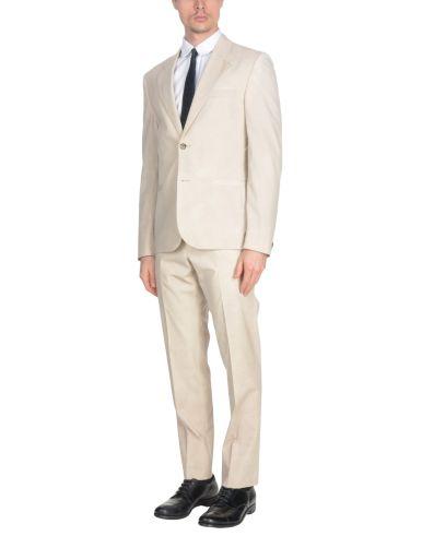 white men's Versace suit