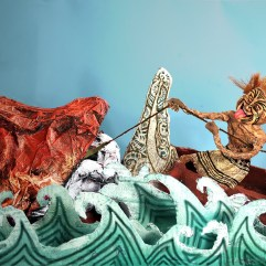 Māui and the Giant Fish by Alex Screen