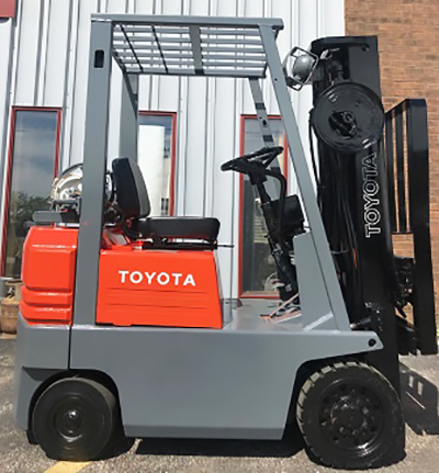1990 Toyota 3000lb Cushion Tire Forklift, Used - Forklift Select
