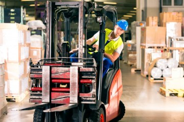 """featured image of the blog titled """"What Are The Benefits You Can Get From Forklift Financing?"""""""