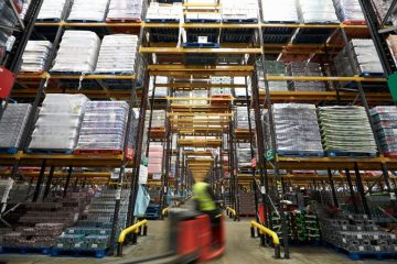"featured image of the blog titled ""Types of Forklifts to Improve Your Warehouse Productivity"""