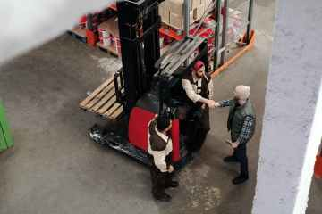 "featured image of the blog titled ""Why Practicing Regular Forklift Maintenance Is a Must"""