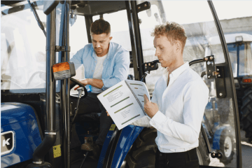 "featured image of the blog titled ""Benefits of Choosing the Right Forklift Financing Provider for Your Business"""