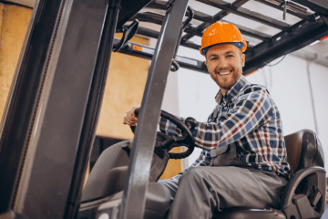 """featured image of the blog titled """"Where to Get The Most Reliable Hyster Forklifts in Denver"""""""