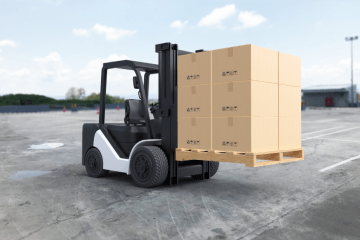 """featured image of the blog titled """"Forklifts Purchasing Tips: Advantages of Purchasing a Used Lift Truck in Denver"""""""