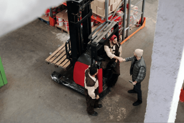 """featured image of the blog titled """"Forklift Purchasing Guide From The Top Forklift Dealer in Denver """""""