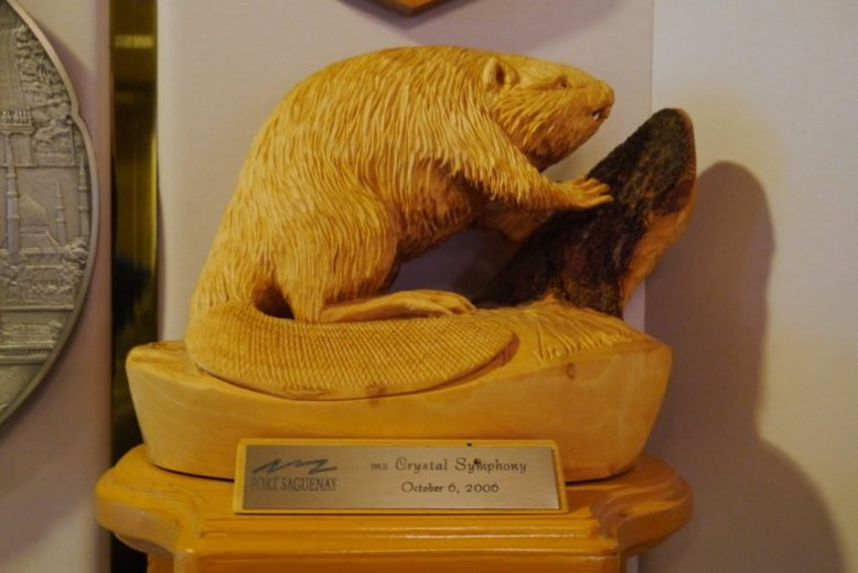 Trophies collected by the ship: Port Saguenay, Quebec