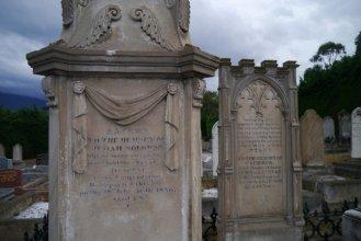 The gravesite of Judah Solomon, Cornelian Bay Cemetery, Hobart