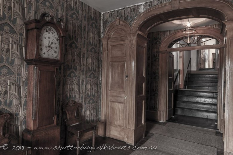 Entrance-Commandants house-Port Arthur-- courtesy of Shutterbug Walkabouts