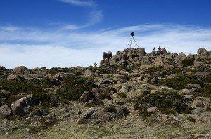 The Pinnacle of Mt Wellington