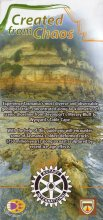 Created From Chaos geological trail Pamphlet