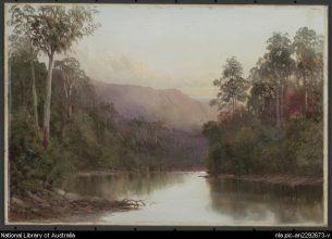 On the Craycroft -- by William Piguenit - Natl Lib of Aus