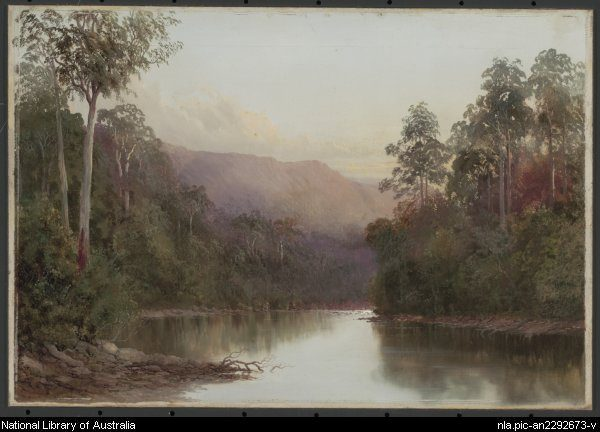 On the Craycroft -- by William Piguenit - Natl Lib of Aus