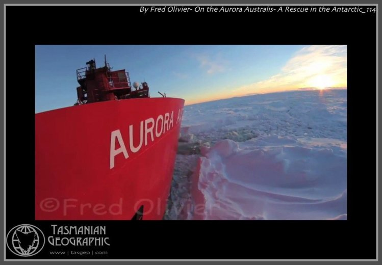 By Fred Olivier- On the Aurora Australis- A Rescue in the Antarctic_114