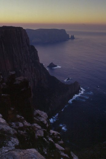 Tasman Island from the Cape Pillar Track - by Angus Munro