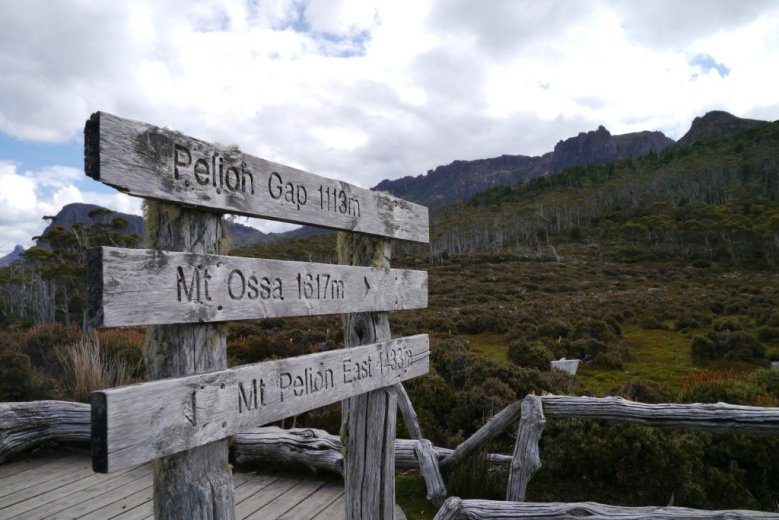 At Pelion Gap on the Overland Track, Tasmania