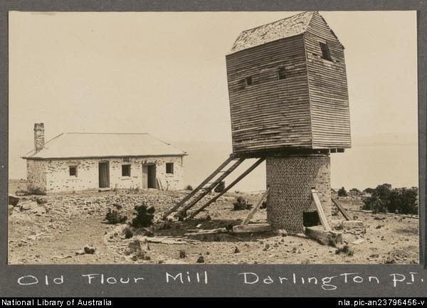 The Old Flour Mill in 1911- National Library of Australia _nla.pic-an23796456-v