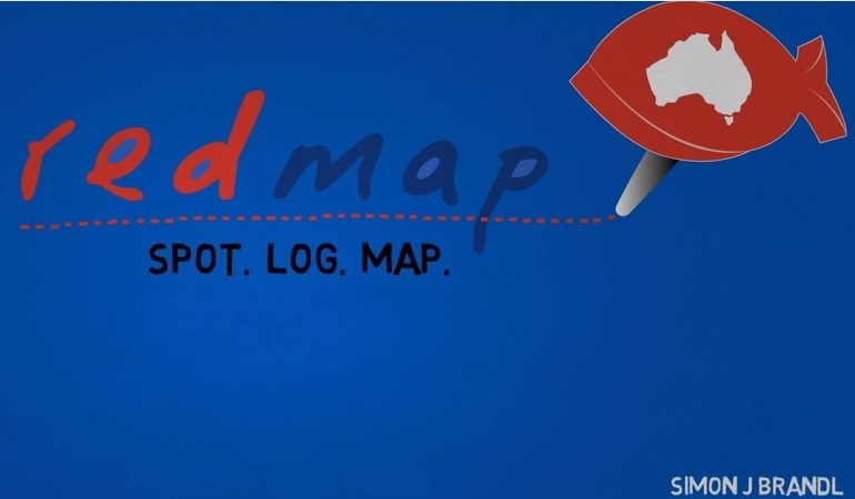 Redmap - Code Red in the Blue - by Simon Brandl -8.59 pm
