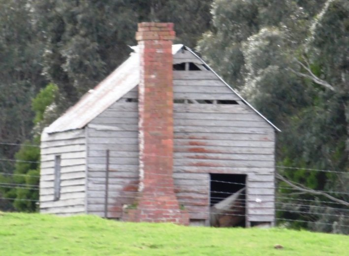 Old apple Pickers' Hut- Huon Valley Apples - Images Via Beth Hall