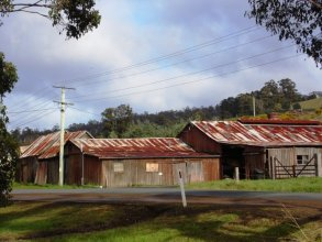 Old apple packing sheds Port Cygnet- Huon Valley Apples - Images Via Beth Hall