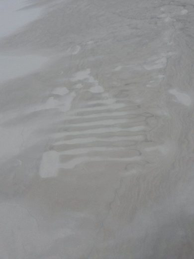 Strange designs scripted by the wind - At Five Mile Beach