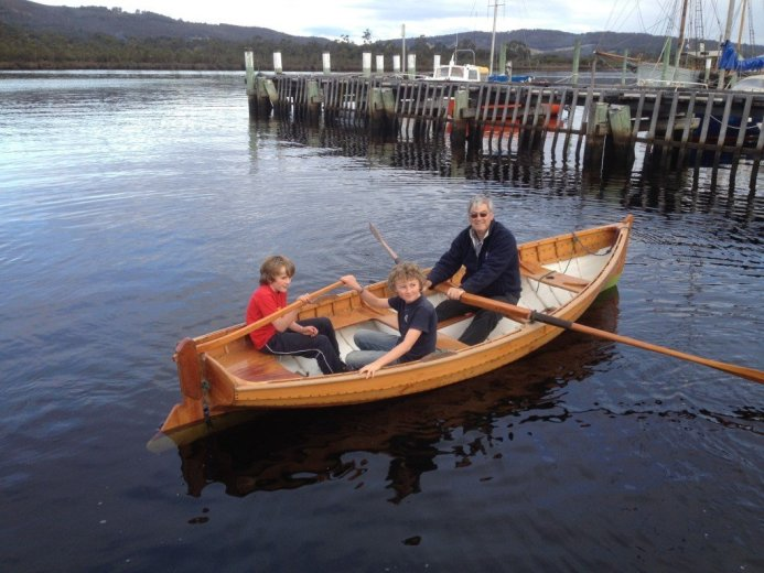 At the Wooden Boat Festival - by Paul Cullen - Courtesy AWBF Media Room