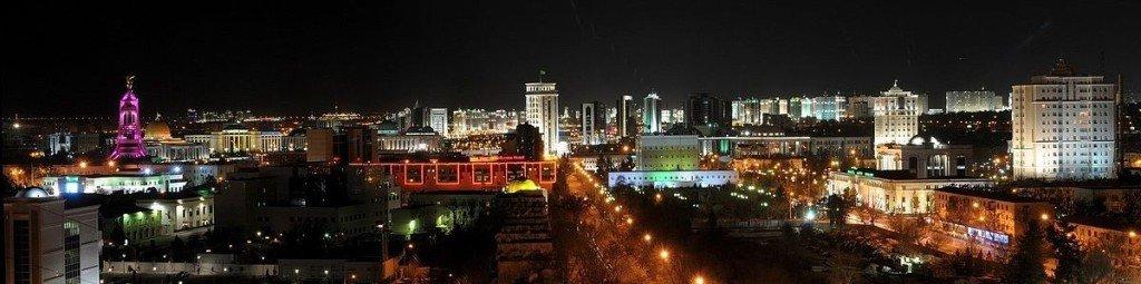 Panorama of Ashgabat - via Wikimedia