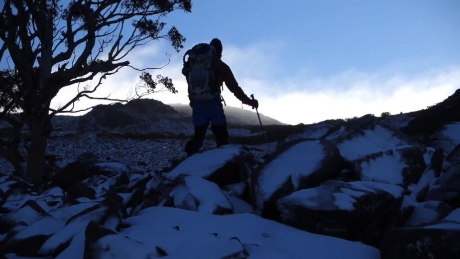 Ice Climbing Tasmania - by Wild Oates Productions with Kim Ladiges - 020