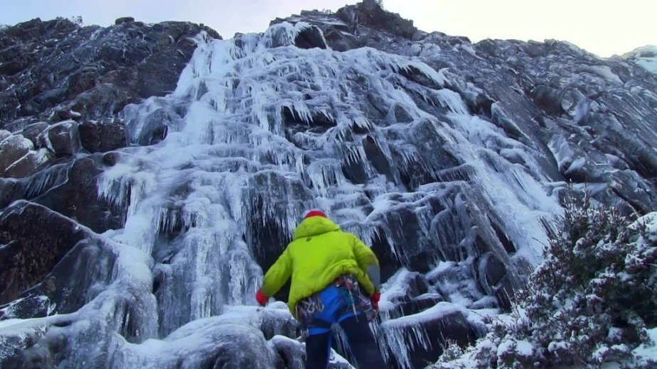 Ice Climbing Tasmania - by Wild Oates Productions with Kim Ladiges - 031