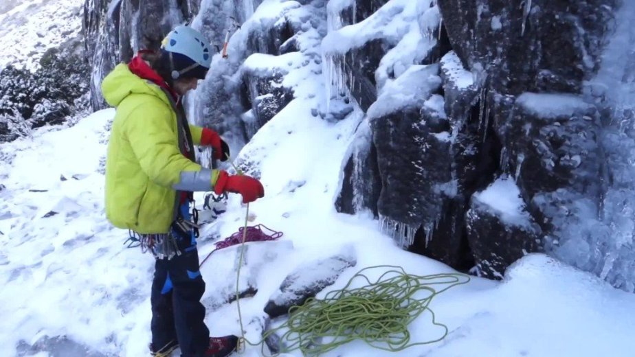 Ice Climbing Tasmania - by Wild Oates Productions with Kim Ladiges - 032