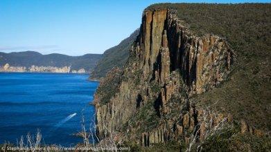 Dolerite Pillars at Cape Hauy - Courtesy ExploringTheEarth (2)