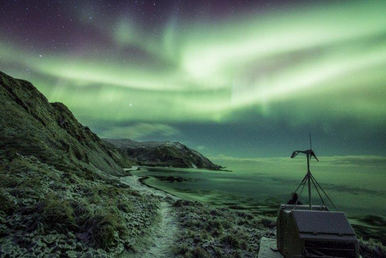 The Aurora on Macquarie Island  - by Nick Fitzgerald - 05