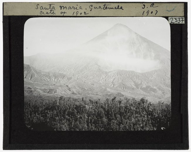 Santa Maria Guatemala Crater of 1902--2337- by Tempest Anderson