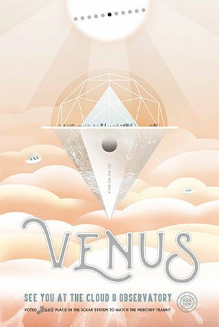Visions of the Future - Venus- by NASA JPL