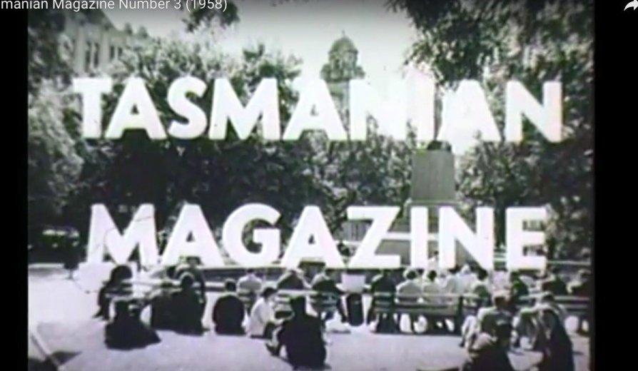 Tasmanian Magazine Number 3 (1958) - 1 - via LINC Tasmania