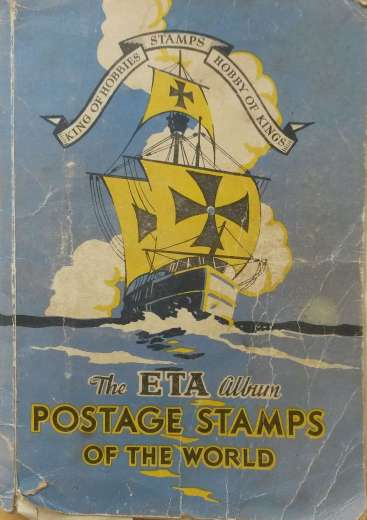 The cover of the ETA Stamps Album