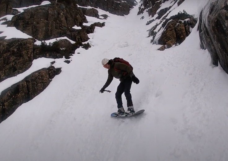 Skiing Cradle Mountain - by Ben Armstrong - 20