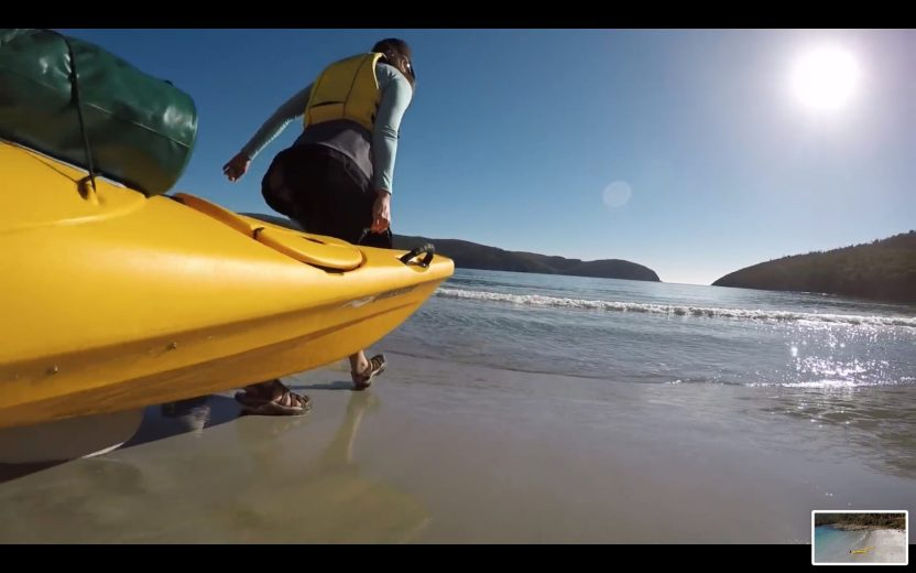 Sea Kayak Tasman Peninsula - Stoked for Saturdays - 37.29