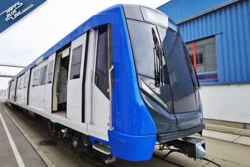 MRT Blue Line extension passenger Test Runs to start late July