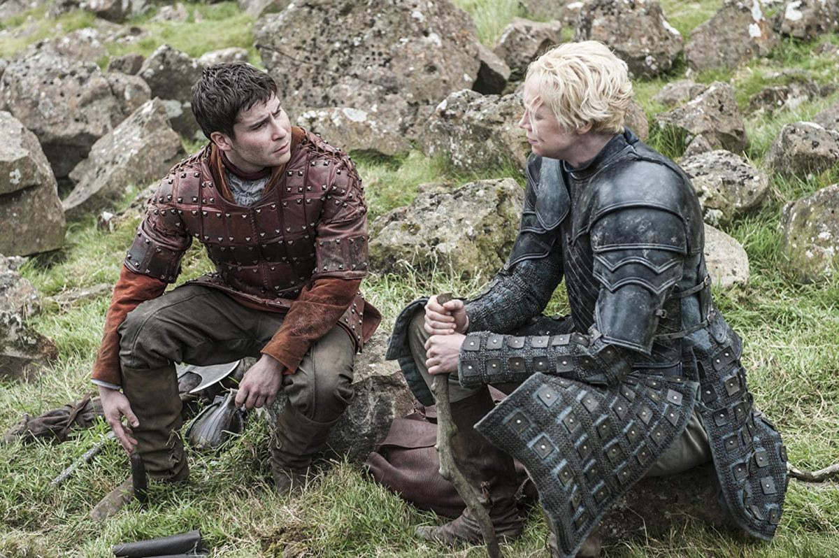 brienne/pod discuss their pasts on the road north