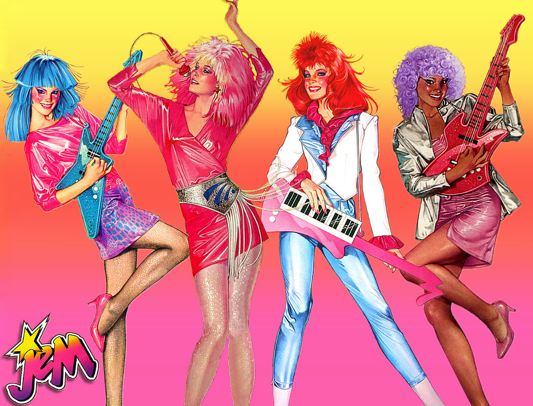 Jem and the Holograms, the first of the Virtual Band revival of the 80s