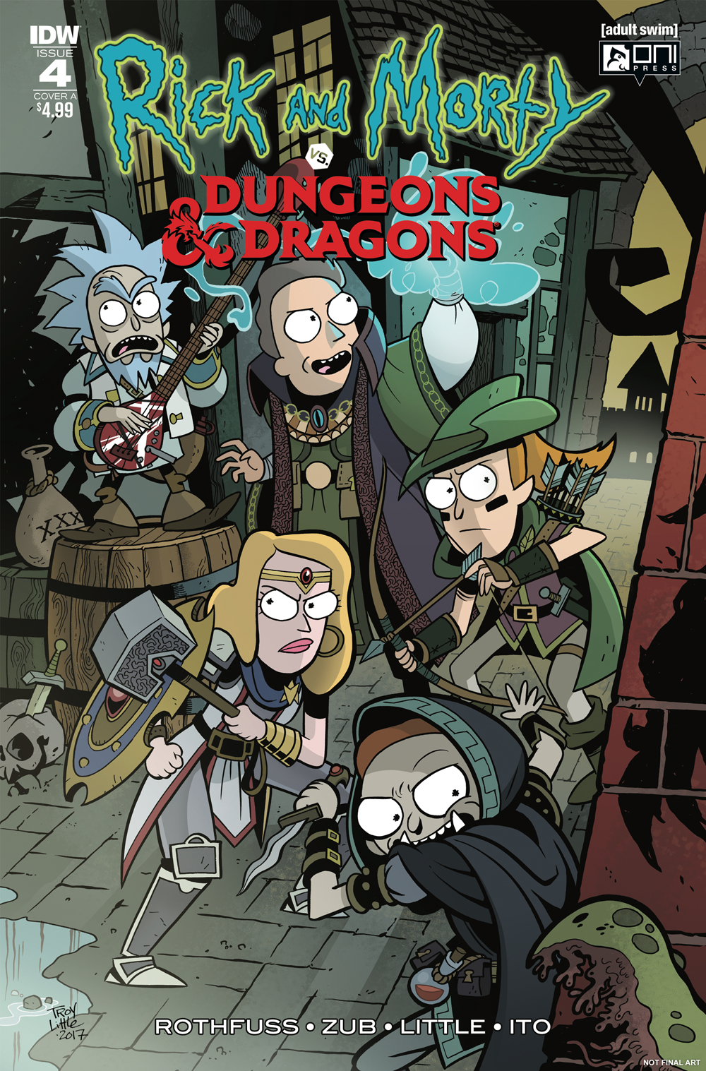 Dungeons and Dragons Comics, Rick and Morty