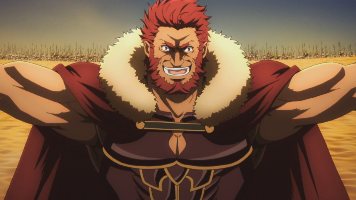 Kings of Fate Zero: Rider goes to battle.