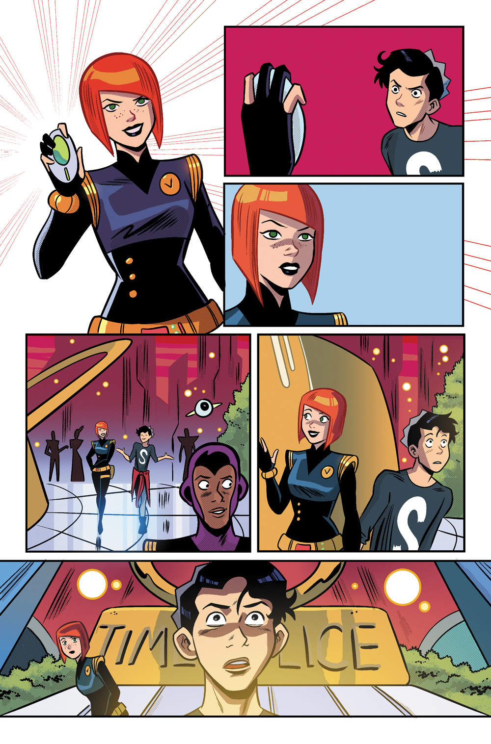 January mentioning the Looper Scooper in Jughead's Time Police #2.