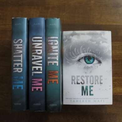 Shatter Me Series.