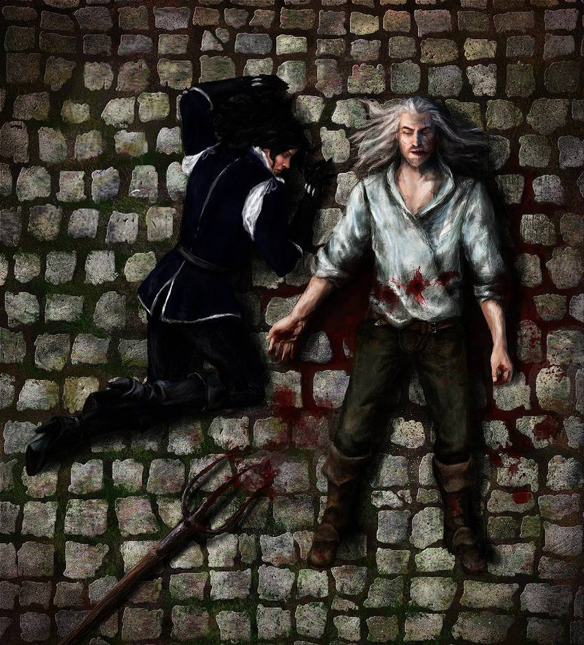 The death of Geralt and Yennefer