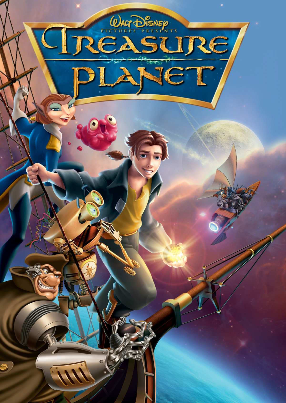 Disney's Treasure Planet movie poster.